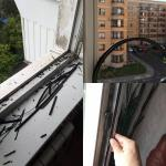 Замена уплотнителя на окнах Мытищи