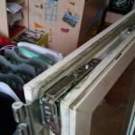 Замена вехней петли с поворотными ножницами Мытищи